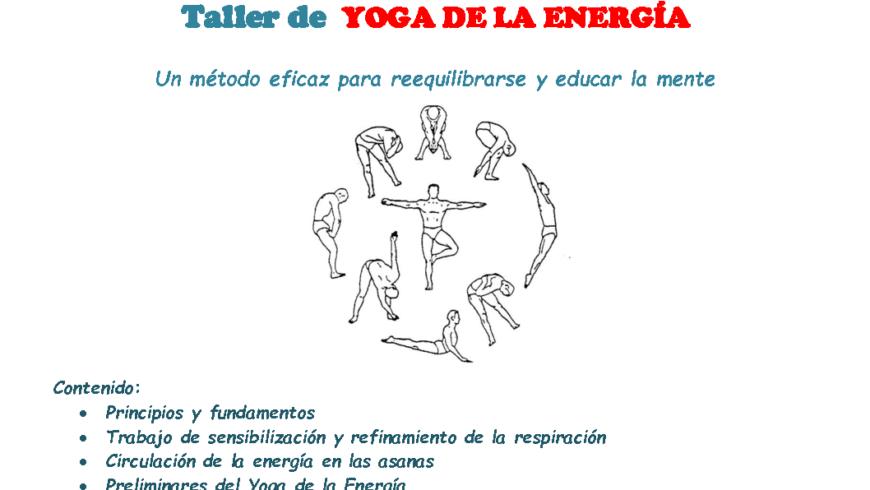 Taller de Yoga de la Energía con Karlos Sáez